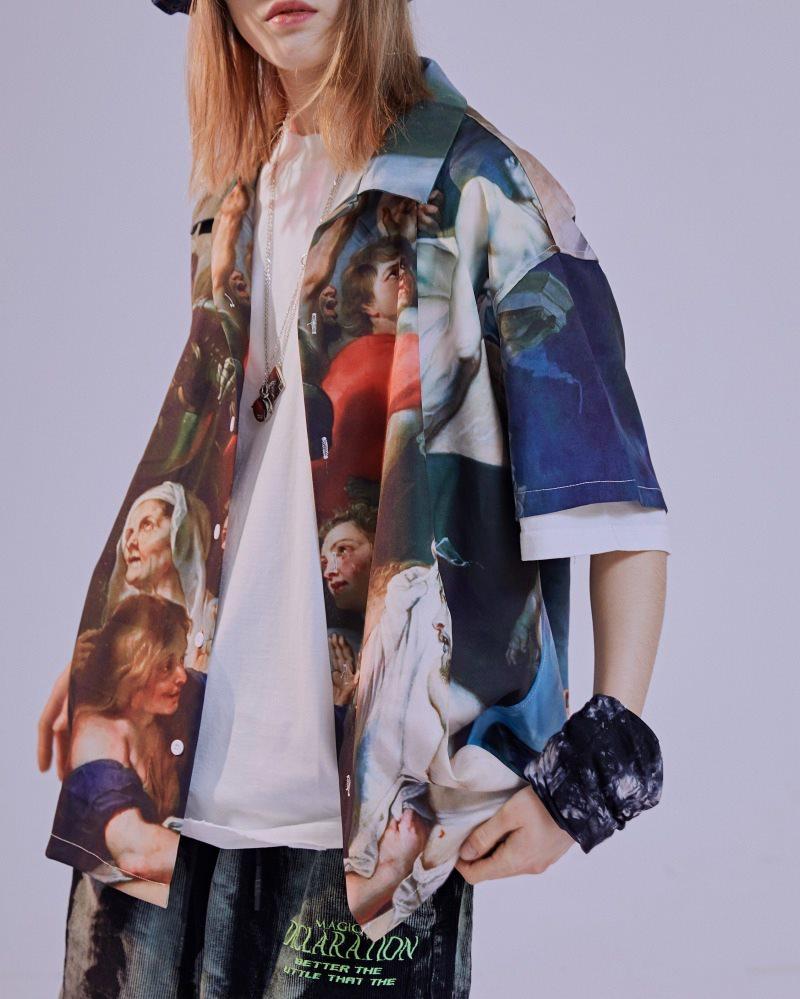ミラクルザビエル半袖シャツの画像3